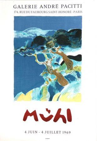 Litografía Muhl - Galerie Andre Pacitti
