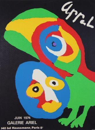 Litografía Appel - Galerie Ariel