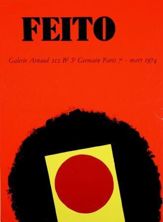 Serigrafía Feito - Galerie Arnaud