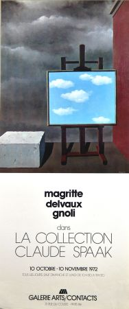 Offset Magritte - Galerie Arts Contacts La Collection de Claude Spaak