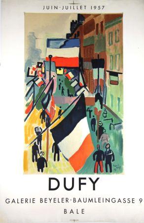 Litografía Dufy - Galerie Beyeler   Bale