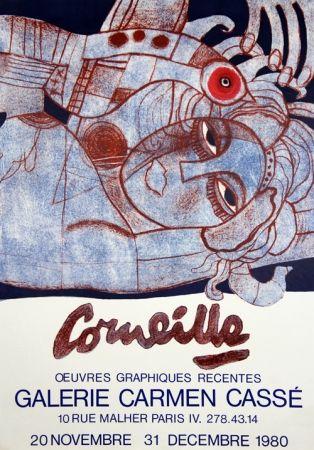 Litografía Corneille - Galerie Carmen Casse