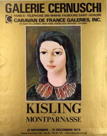 Sin Técnico Kisling - Galerie Cernuschi