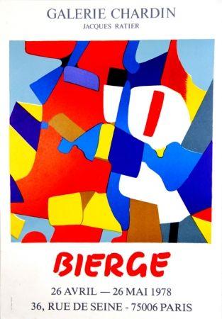 Serigrafía Bierge - Galerie Chardin