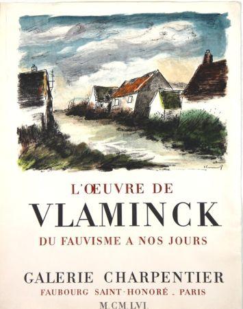 Litografía Vlaminck - Galerie Charpentier