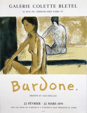 Litografía Bardone - Galerie Colette Bletel