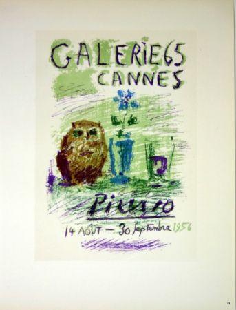 Litografía Picasso (After) - Galerie de Cannes