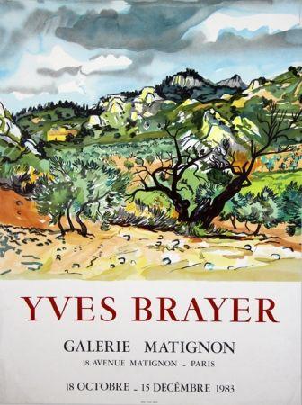 Litografía Brayer - Galerie de Matignon
