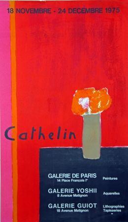 Litografía Cathelin - Galerie de Paris