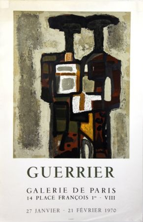Litografía Guerrier - Galerie de Paris