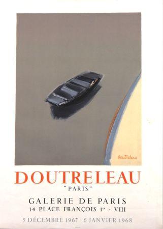 Litografía Doutreleau - Galerie de Paris