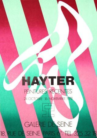 Litografía Hayter - Galerie de Seine
