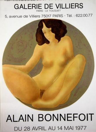 Litografía Bonnefoit - Galerie de Villiers