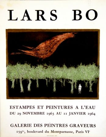 Litografía Bo - Galerie des Peintres Graveurs
