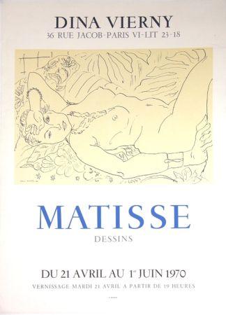 Litografía Matisse - Galerie Dina Vierny