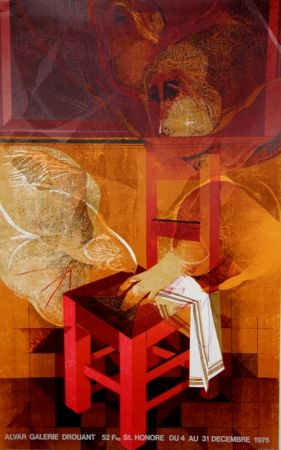 Litografía Alvar - Galerie Drouant