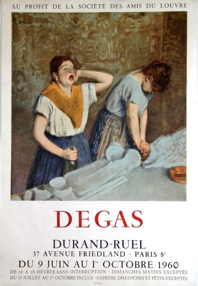 Litografía Degas - Galerie Durand -Ruel