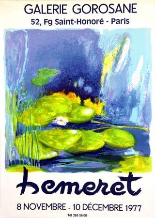 Litografía Hemeret  - Galerie Gorosane