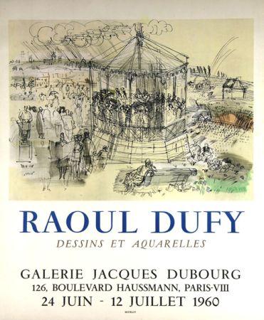 Litografía Dufy - Galerie Jacques Dubourg