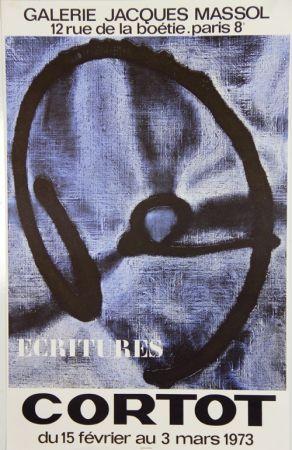 Litografía Cortot - Galerie Jacques Massol  1973