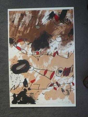 Litografía Guinovart - Galerie Joan Prats