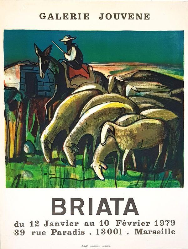 Litografía Briata - Galerie  Jouvene