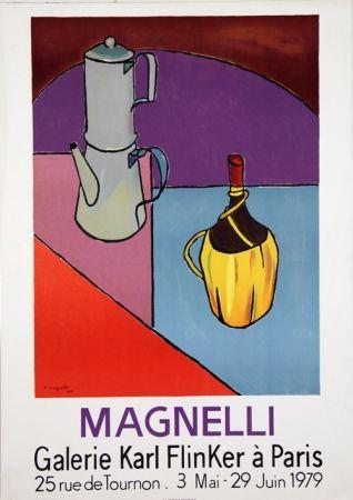 Litografía Magnelli - Galerie Karl Flinker