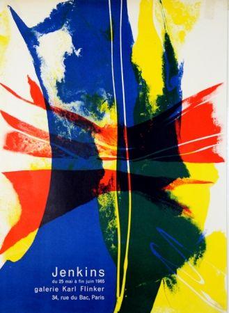 Litografía Jenkins - Galerie Karl Flinker