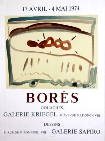 Litografía Bores - Galerie Kriegel