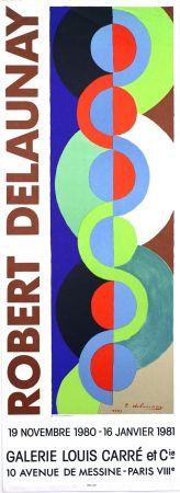 Litografía Delaunay - Galerie Louis  Carré