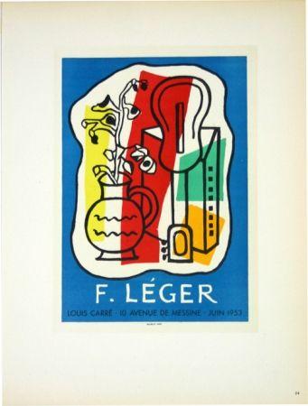 Litografía Leger - Galerie Louis Carré