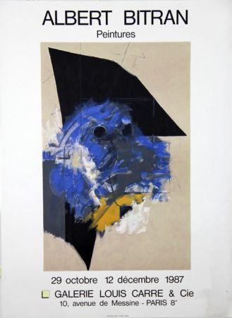 Litografía Bitran - Galerie Louis Carre