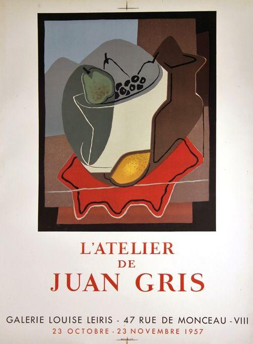 Litografía Gris  - Galerie Louise Leiris