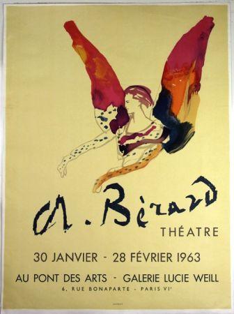 Litografía Berard - Galerie Lucie Weil
