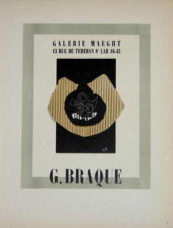 Litografía Braque - Galerie Maeght