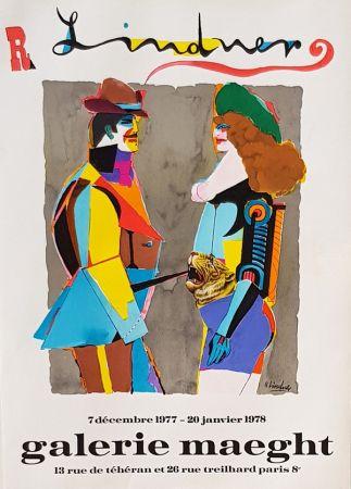 Litografía Lindner - Galerie  Maeght