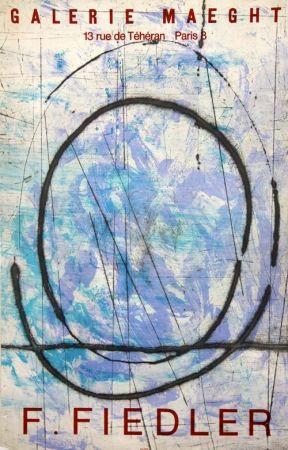 Litografía Fiedler - Galerie Maeght
