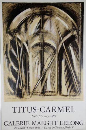 Offset Titus Carmel - Galerie Maeght