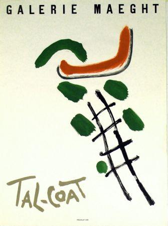 Litografía Tal Coat - Galerie Maeght