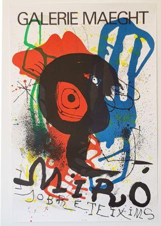 Litografía Miró - Galerie Maeght