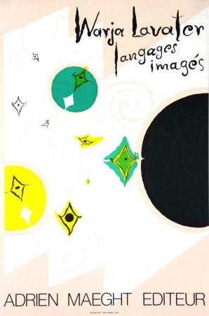 Litografía Lavater - Galerie Maeght   Langages  Imagés