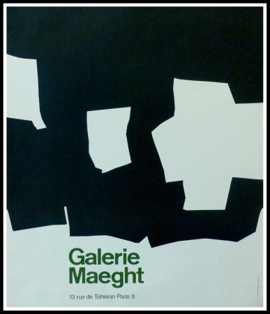 Cartel Chillida - GALERIE MAEGHT PARIS