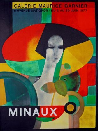 Litografía Minaux - Galerie Maurice Garnier
