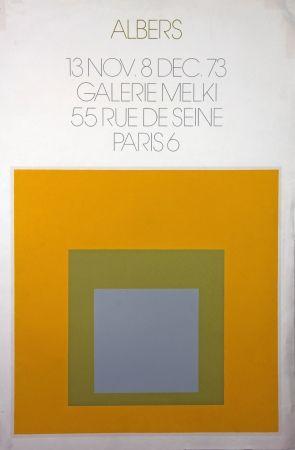 Litografía Albers - Galerie Melki