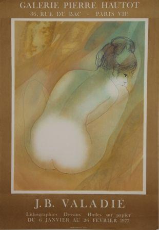 Litografía Valadie - Galerie Pierre Hautot