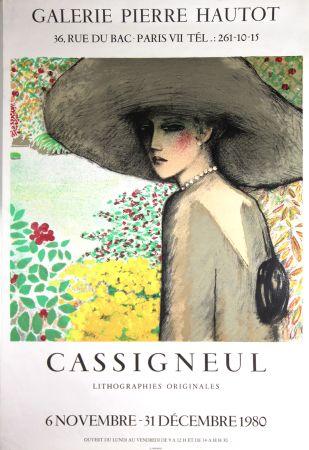 Litografía Cassigneul  - Galerie Pierre Hautot
