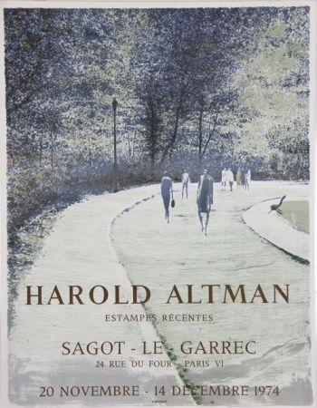 Litografía Altman - Galerie Sagot Le Garrec