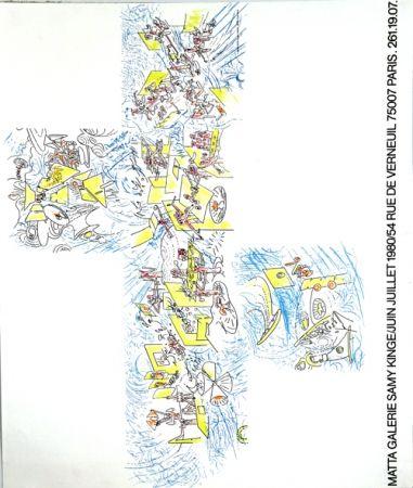 Litografía Matta - Galerie Samy Kinge