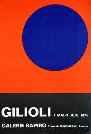 Cartel Gilioli - Galerie Sapiro