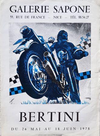 Litografía Bertini - Galerie  Sapone